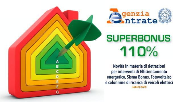 Guida Agenzia delle Entrate – Superbonus 110%