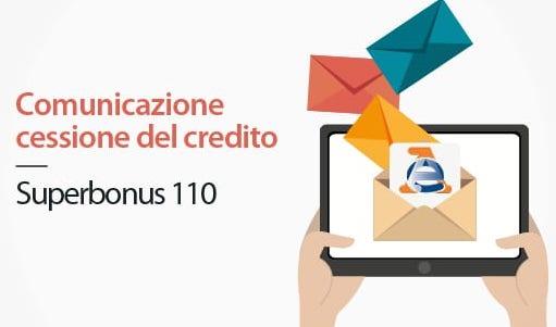 Superbonus 110: dalle Entrate la procedura per la comunicazione cessione del credito