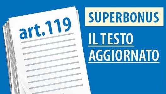 Superbonus 110: il testo aggiornato alla legge 126 (decreto agosto)
